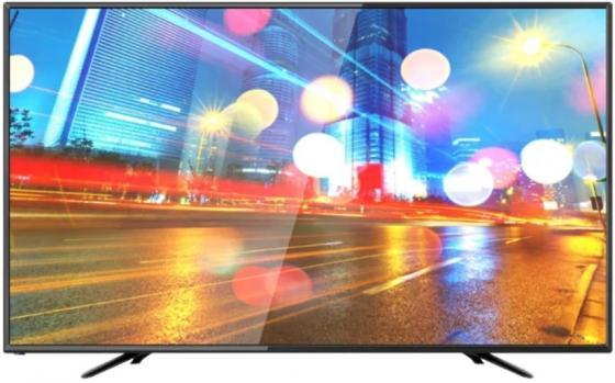 """Телевизор LED 43"""" Hartens HTV-43F01-T2C/B черный 1920x1080 USB VGA цена и фото"""