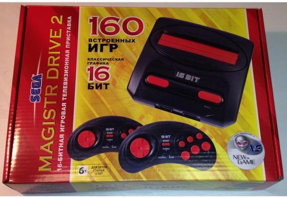 SEGA Magistr Drive 2 Little (160 встроенных игр) [ConSkDn58]