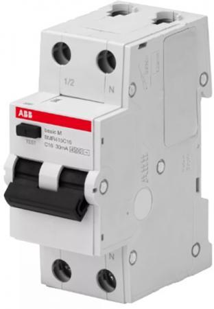 ABB 2CSR645041R1204 Выкл. авт. диф. тока, 1P+N, 20А, C, 4.5kA, 30мА, AC, BMR415C20 все цены