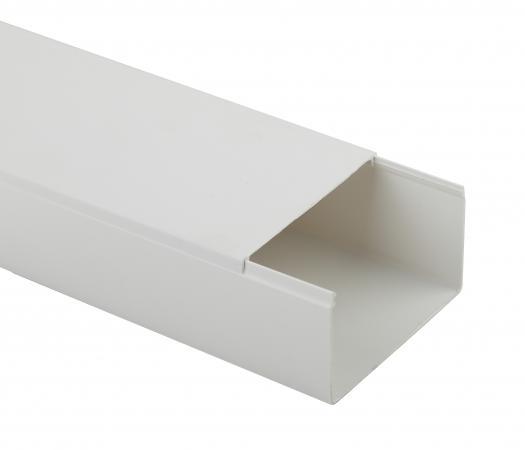 ЭРА Б0031143 Кабель-канал KK-W-100-60  100x60 белый, длина 2 м