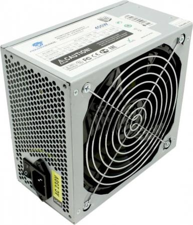 PowerCool (ATX-400W-APFC-14) Блок питания 400W ATX (24+2x4+6 пин, 140mm (SCP)\\(OVP)\\(OCP)\\(UVP)\\ATX цена