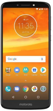 "Смартфон Lenovo MOTO E5 Plus серый 6"" 32 Гб LTE Wi-Fi GPS 3G PABA0023RU смартфон lenovo sisley s90 серый графитовый 5 32 гб lte wi fi gps 3g p0s3000nru"