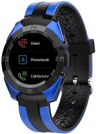 Умные часы Prolike Jet PLSW7000BL с цветным дисплеем, синие цена и фото