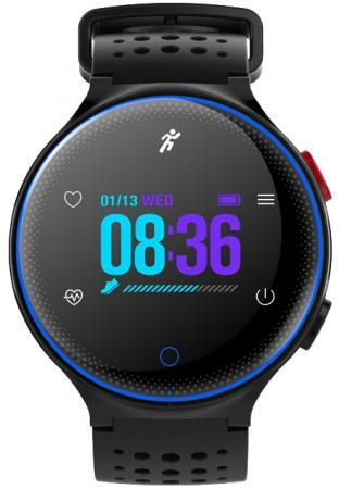 Умные часы Prolike с измерением давления PLSW1000CBL color с цветным дисплеем, голубые цена и фото