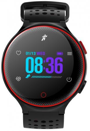 Умные часы Prolike с измерением давления PLSW1000CRD color с цветным дисплеем, красные цена
