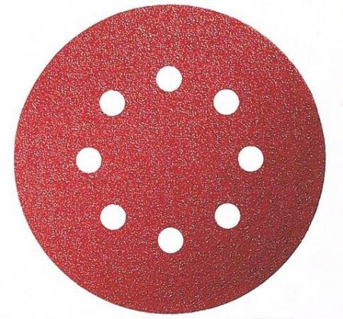 Круг шлифовальный BOSCH 2.608.605.643 125мм P120 набор 5 шт цена за комплект круг шлифовальный elitech 1820 038400 5 шт p120 125 мм