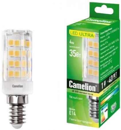 Лампа CAMELION LED4-S105/830/E14 эл. светодиодная 4Вт 220в лампа camelion led2 t26 830 e14 эл светодиодная 2вт 220в