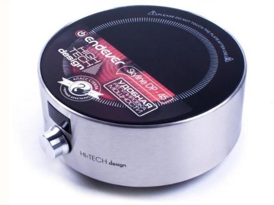 Электроплитка ENDEVER DP-45B серебристый чёрный электроплитка supra hs 201 чёрный
