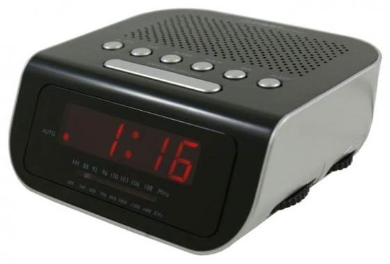 Часы с радиоприёмником First FA-2406-6-Black чёрный часы с радиоприёмником aeg mrc 4119 p black чёрный