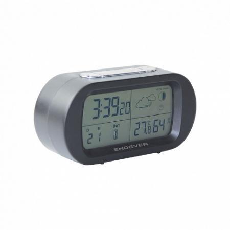 Часы настольные ENDEVER RealTime 31 серый все цены
