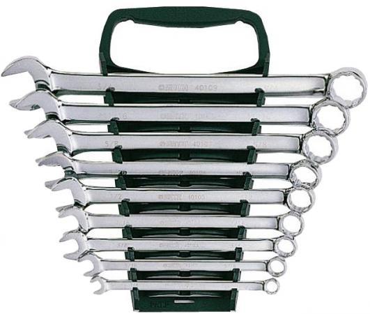 цена на Набор комбинированных ключей SATA 09020 (8 - 19 мм) 9 шт.
