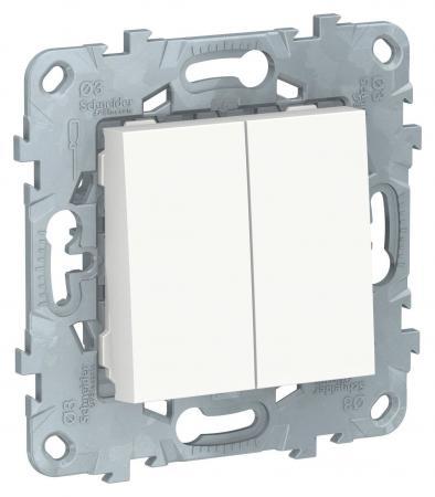Выключатель Schneider Electric NU521118 — белый helge schneider würzburg