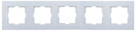 Рамка PANASONIC WKTF0805-2WH-RES Arkedia 5м горизонтальная белая