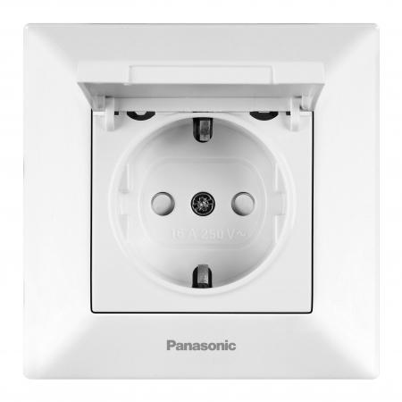 Розетка PANASONIC WMTC0451-2WH-RES Arkedia TV концевая белая удлинитель panasonic wltb0445 2wh res