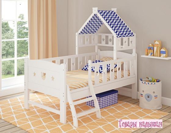 Кровать подростковая 160x80см Giovanni Dommy (white-blue) кровать подростковая giovanni grande chocolo