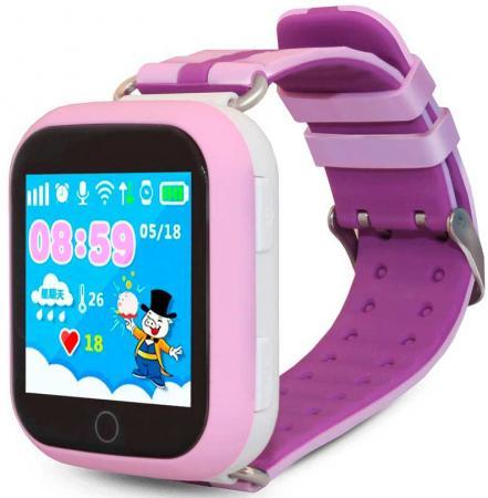"цена Смарт-часы Ginzzu GZ-503 1.54"" IPS розовый (00-00000892) онлайн в 2017 году"