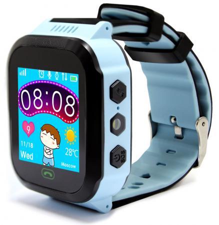 Смарт-часы Ginzzu GZ-502 1.44 IPS голубой (00-00001272) умные часы детские ginzzu gz 502 touch 17078 blue