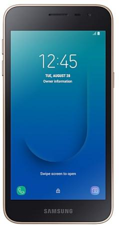 Смартфон Samsung SM-J260 Galaxy J2 Core 8Gb 1Gb золотистый моноблок 3G 4G 2Sim 5 540x960 Android 8.1 8Mpix 802.11bgn BT GPS GSM900/1800 GSM1900 MP3 microSD max256Gb смартфон digma rage 4g linx 16gb 2gb черный моноблок 3g 4g 2sim 5 7 720x1440 android 8 1 8mpix 802 11bgn bt gps gsm900 1800 gsm1900 touchsc mp3 fm microsd max64gb