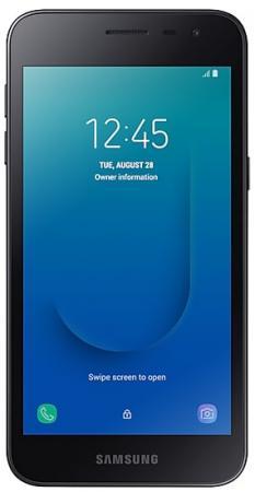 Смартфон Samsung Galaxy J2 core черный 5 8 Гб LTE Wi-Fi GPS 3G Bluetooth SM-J260FZKRSER смартфон samsung galaxy j1 2016 8 гб черный sm j120fzkdser