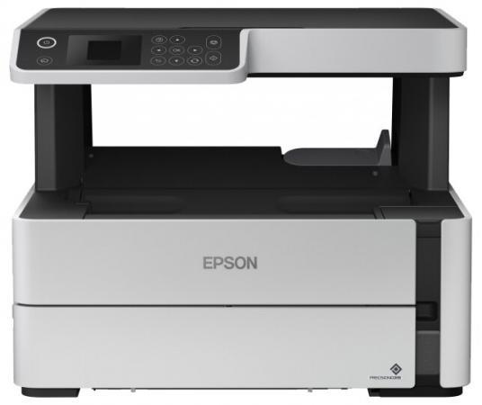 цена на МФУ струйный Epson M2140 (C11CG27405) A4 USB черный/серый