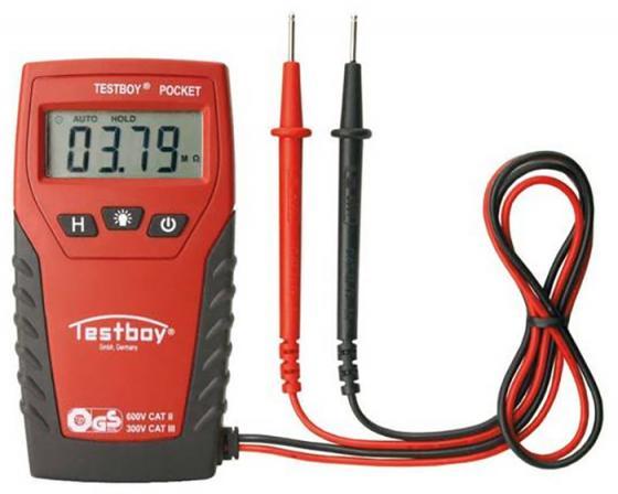 Мультиметр TESTBOY TESTBOY Pocket цифровой до 500В мультиметр цифровой tek dt9208a цифровой