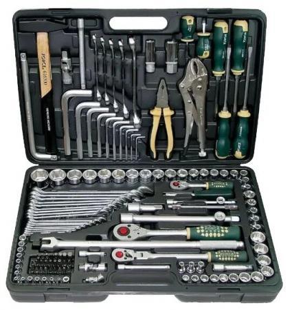Набор инструментов FORCE 41421R-9 с 12-ти гран. головками 142 пр. набор с торцевыми головками force f 4246s 9