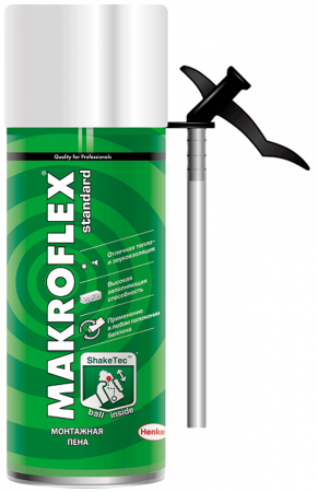цена на Пена монтажная MAKROFLEX SHAKETEC Стандарт (0.3л)