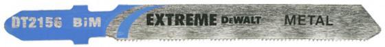 Пилка д/лобзика DEWALT DT2156-QZ п/мет. BIM EXTREME. 76x51x0.8x2.5 мм, T118GF 3шт пилки для лобзика dewalt dt2156 qz