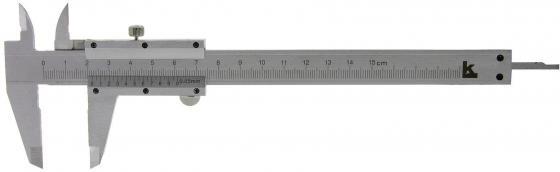 Штангенциркуль нониусный Калиброн 71871 линейка калиброн 1000х35х0 8mm 73857