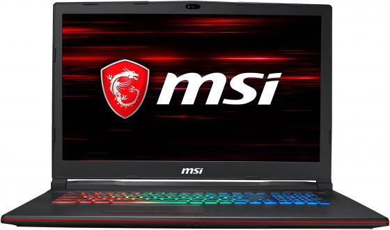 Ноутбук MSI GP73 Leopard 8RD-433RU (MS-17C6) 17.3'' FHD(1920x1080) nonGLARE/Intel Core i7-8750H 2.20GHz Hexa/16GB/1TB+256GB SSD/GF GTX1050Ti 4GB/HM370/noDVD/WiFi/BT5.0/1.0MP/SDXC/6cell/2.70kg/W10/1Y/BLACK системный блок msi trident 3 arctic 8rd 208ru trident b920 intel core i7 8700 3 20ghz hexa 16gb 1tb gf gtx 1070 aero itx 8g oc 8gb h310 nodvd wifi bt5 0 joystick w10h 3y white