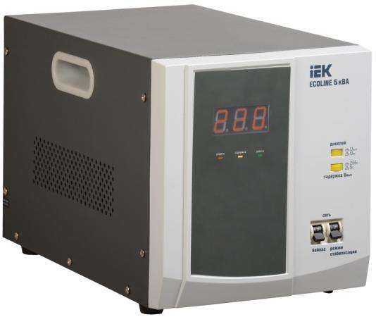 Iek IVS26-1-05000 Стабилизатор напряжения переносной серии Ecoline 5 кВА IEK стоимость