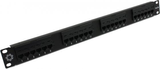 """лучшая цена 5bites PPU50-01 Патч-панель UTP / 5E / 24P / KRONE / 110 / DUAL IDC / 1U / 19"""""""