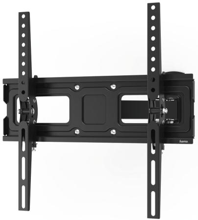 "Кронштейн для телевизора Hama 00118127 черный 32""-65"" макс.30кг настенный наклон кронштейн hama h 118668 для телевизора 23 65 до 30кг черный"