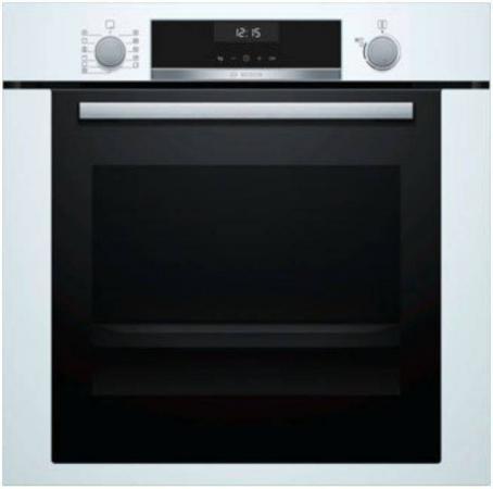 Электрический шкаф Bosch HBB356BW0R черный/белый цена и фото