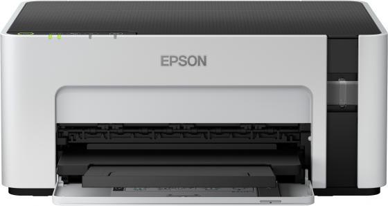Фото - Принтер струйный Epson M1120 (C11CG96405) A4 WiFi USB серый/черный принтер epson m1170 серый черный