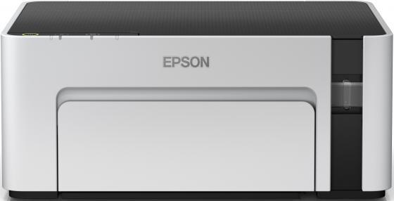 Фото - Принтер струйный Epson M1100 (C11CG95405) A4 USB серый/черный браслет агат серый 18 см
