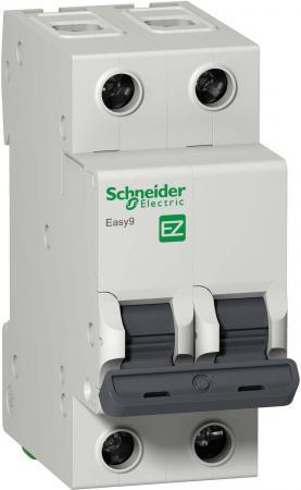 Выключатель автоматический Schneider Electric EASY9 ВА 2П 10А C 4.5кА 2DIN 2полюса 82х36мм