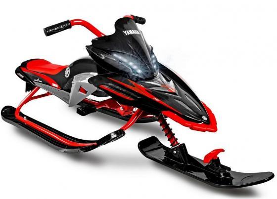 Снегокат Yamaha Apex Snow Bike до 40 кг Пластик сталь черный красный цена 2017