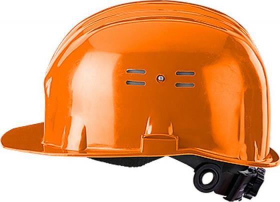 Каска ИСТОК КАС002-1 с храповиком оранжевая