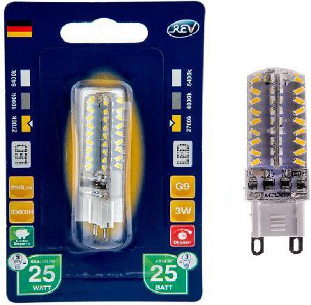 Лампа светодиодная капсульная Rev ritter 32382 2 G9 3W 2700K