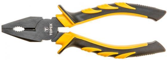 Плоскогубцы TOPEX 32D020 комбинированные 160мм плоскогубцы topex 32d101 удлиненные прямые 160мм
