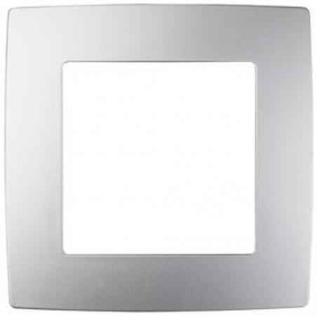 Рамка ЭРА 12-5001-03 на 1 пост, Эра12, алюминий