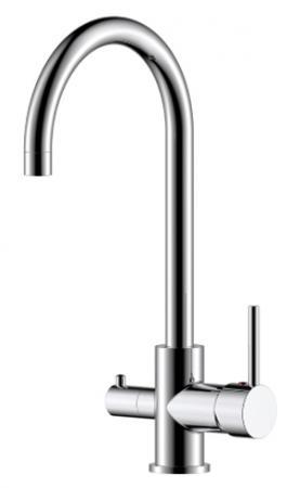 Смеситель ROSSINKA Z35-28 для кухни c подключением к фильтру с питьевой водой h=360мм хром смеситель д кухни rossinka rs27 23 хром
