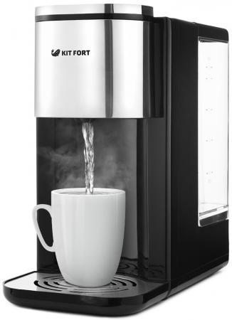 Термопот KITFORT КТ-2503 2600 Вт чёрный серебристый 2.2 л металл/пластик