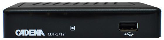 цена на Ресивер DVB-T2 Cadena CDT-1712 черный