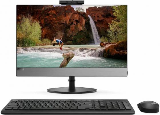 Купить Моноблок Lenovo V530-22ICB 21.5 Full HD i3 8100T/8Gb/1Tb 5.4k/DVDRW/CR/Windows 10 Professional 64/WiFi/BT/клавиатура/мышь/черный