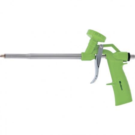 Пистолет для монтажной пены СИБРТЕХ 88676 стандарт пластмассовый корпус пистолет для монтажной пены облегченный корпус sparta