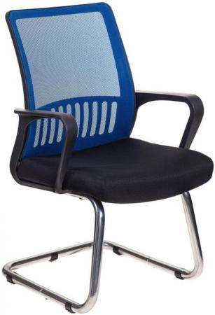 Кресло Бюрократ MC-209/BL/TW-11 спинка сетка синий TW-05 сиденье черный TW-11 кресло бюрократ mc 201 h dg tw 11 спинка сетка серый tw 04 сиденье черный