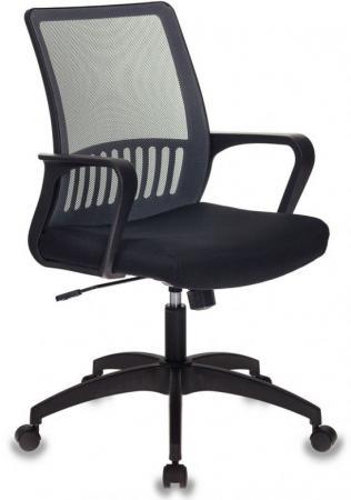 Кресло Бюрократ MC-201/DG/TW-11 спинка сетка серый TW-04 сиденье черный TW-11 стул бюрократ вики dg 15 13 спинка сетка темно серый сиденье темно серый 15 13