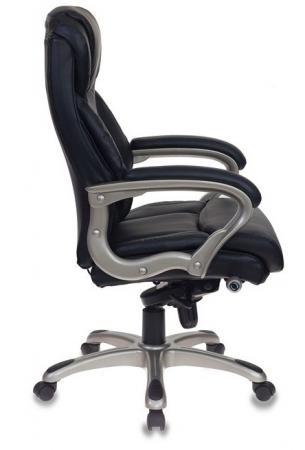 Кресло руководителя Бюрократ T-9916/BLACK черный рец.кожа/кожзам цена